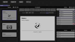 Interface atual do meu projeto recente (ainda não lançado)